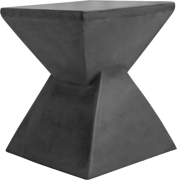 Xero Concrete Stool Lava Grey