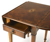 Glenview Olive Ash Burl Pembroke Table