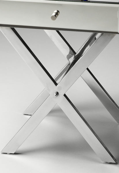 Vincennes Mirrored Side Table