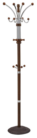 Caledon Coat Rack in Walnut