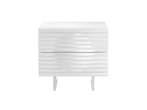 Moon High Gloss Lacquer Nightstand