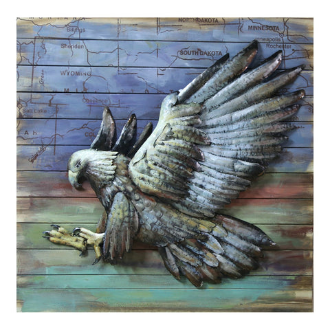 Hawk Wall Decor