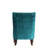 Arya Arm Chair Blue Green