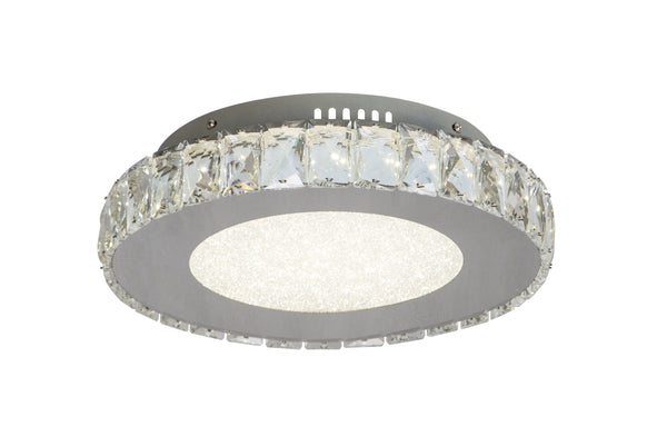 Beaded Crystal LED Flush Mounts