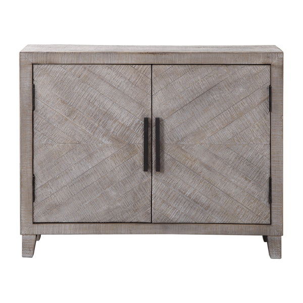 Adalind White Washed Accent Cabinet