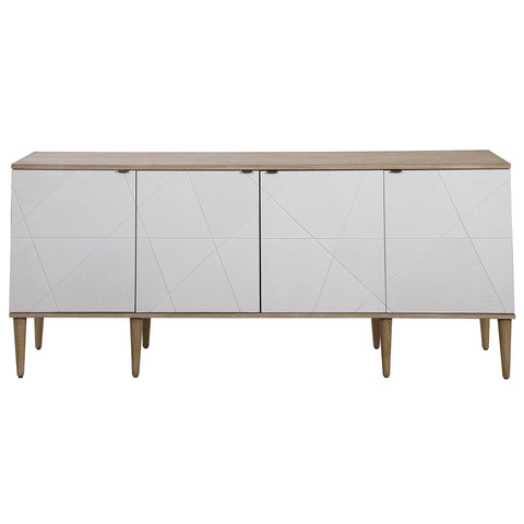 Tightrope 4 Door Modern Sideboard Cabinet
