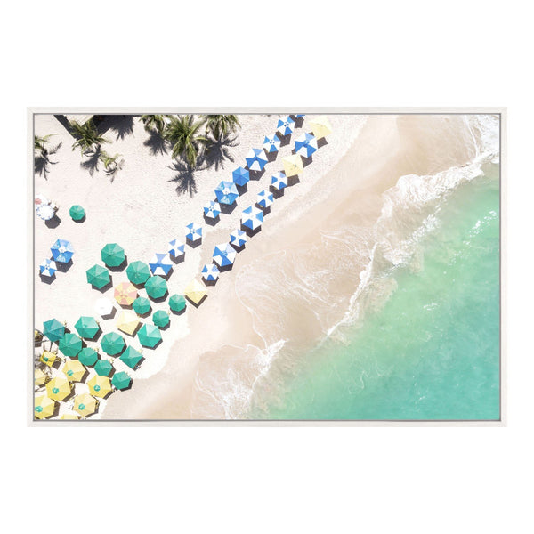 Beach Umbrellas Wall Decor