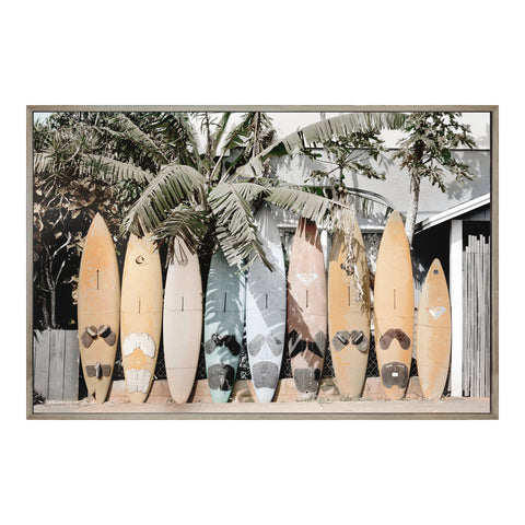 Surfs Up Wll Décor