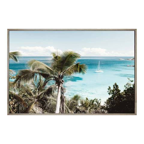 Tropical Bay Wall Decor