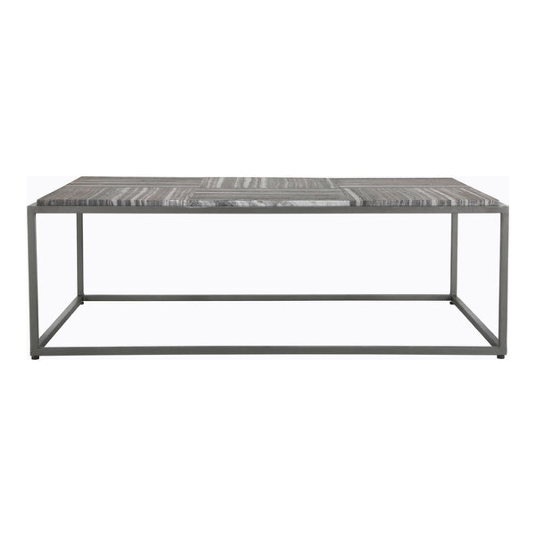 Winslow Rectangular Marble Coffee Table