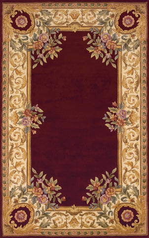 Harmony Hand Tufted Lamb's Wool Chinese Area Rug