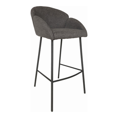 Gigi Bar Stool Dark Grey