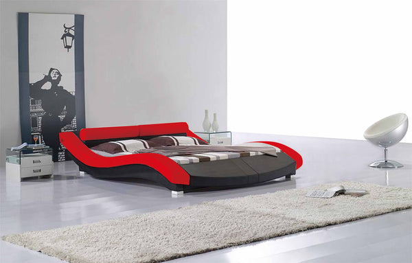 Vinyl Queen Size Bed