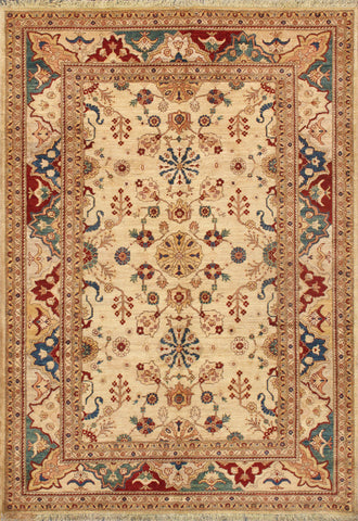 Nomad Art Sultanabad Hand-Knotted Lamb's Wool Area Rug