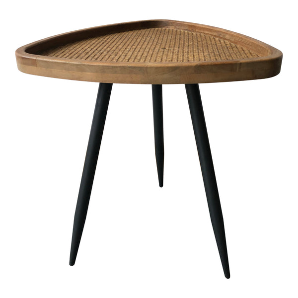 Rollo Rattan Side Table