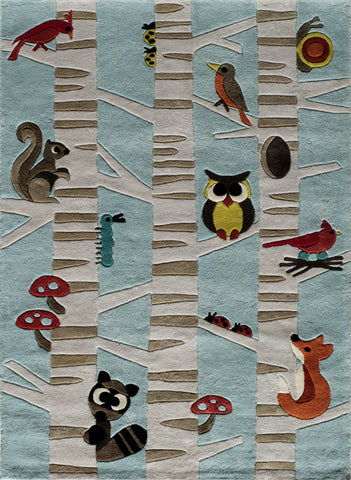 Lil Mo Whimsy Hand Tufted Chinese Area Rug