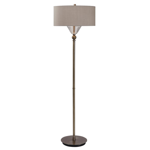 Kensington Brass Floor Lamp