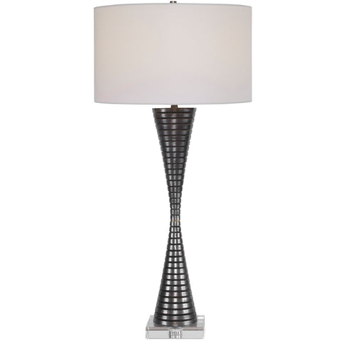Renegade Ribbed Iron Table Lamp