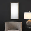 Serna Antiqued Silver Mirror
