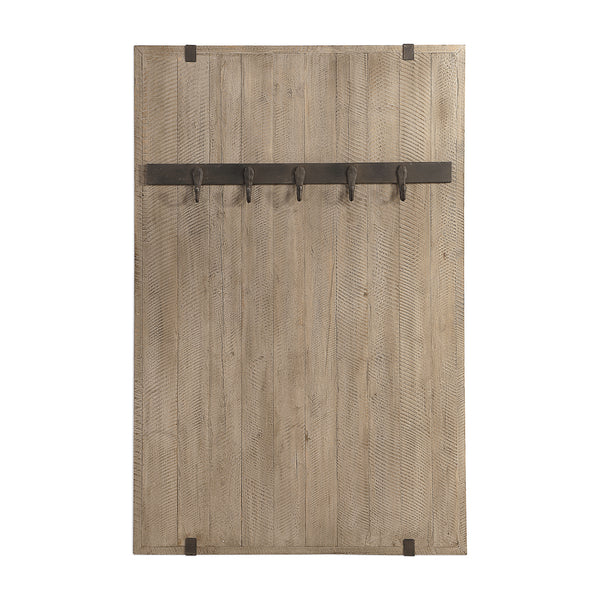 Galway Wooden Wall Coat Rack