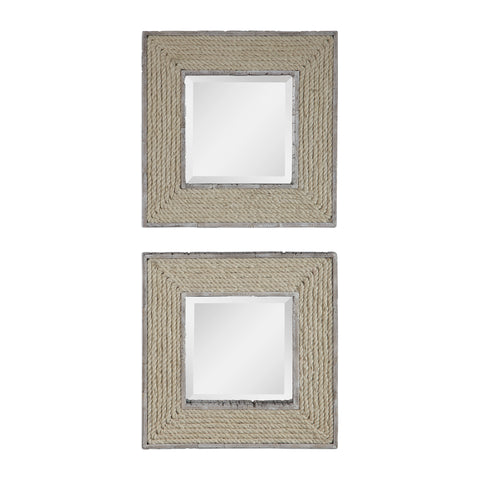 Cambay Square Mirrors Set2