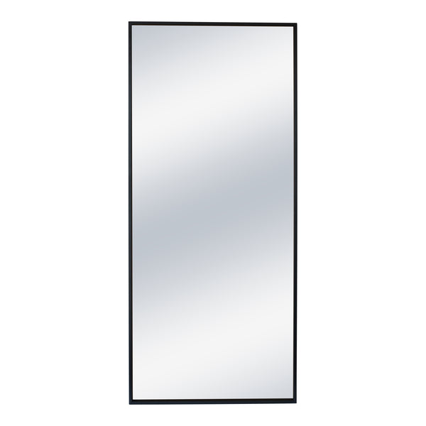 Squire Mirror Black