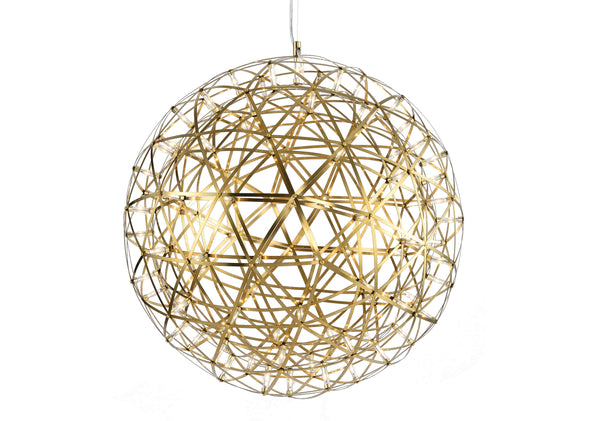 Adjustable Cord Gold LED Lighting