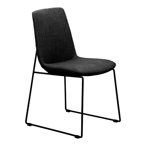 Ruth Dining Chair Black-Set Of Two