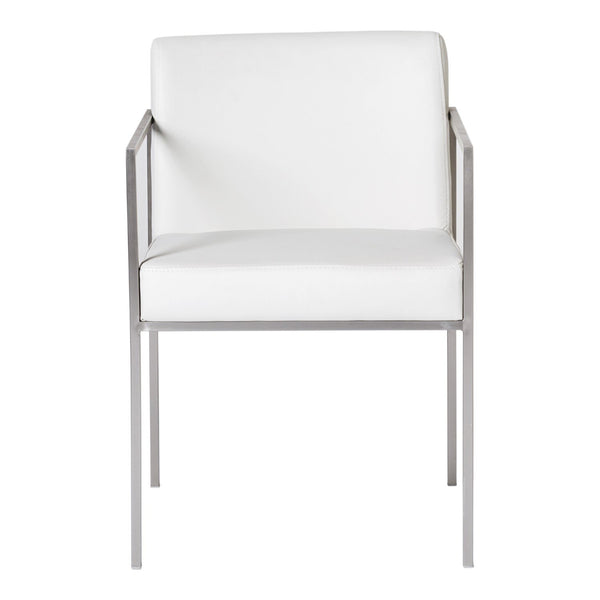 Capo Arm Chair White-Set Of Two
