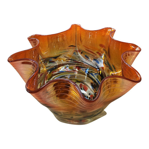 Freeform Bowl Orange