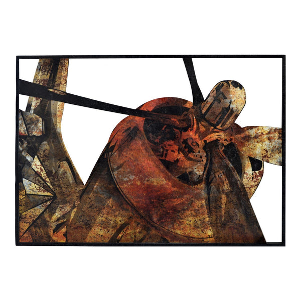 Rusty Fighter Plane Wall Decor