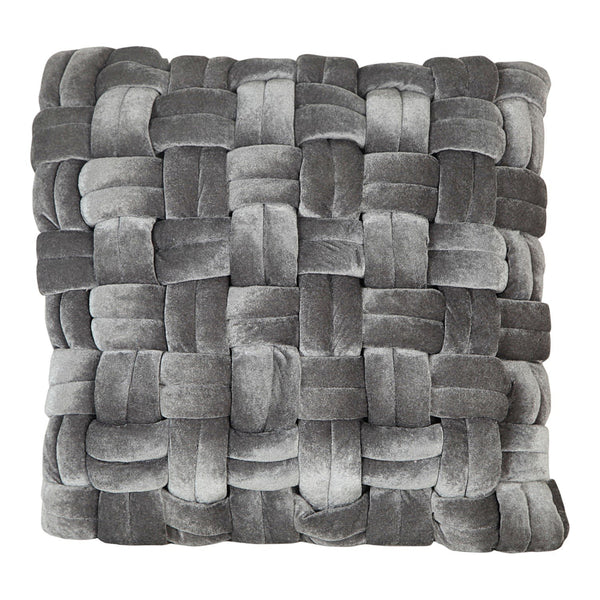 Pj Velvet Pillow Grey