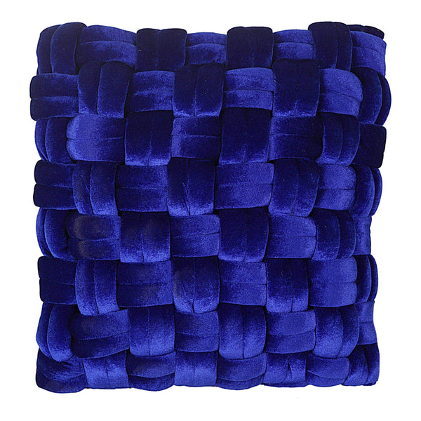 Pj Velvet Pillow Royal Blue