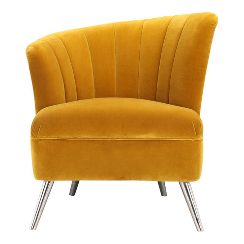Layan Accent Chair Left Yellow