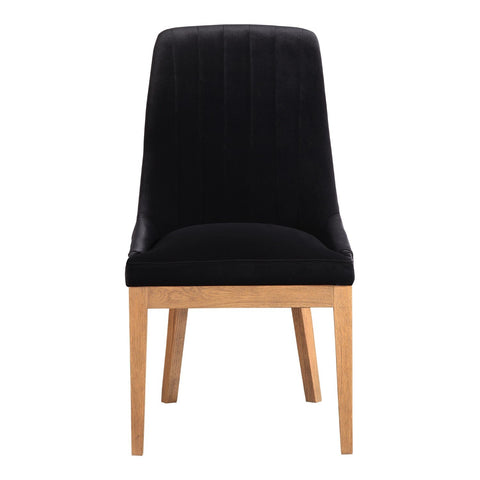 Mia Dining Chair Black-Set Of Two