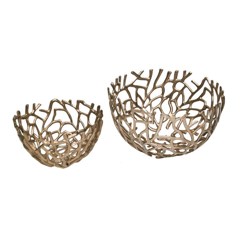 Nest Bowls Silver Set Of Two