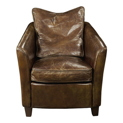 Charlston Club Chair Brown