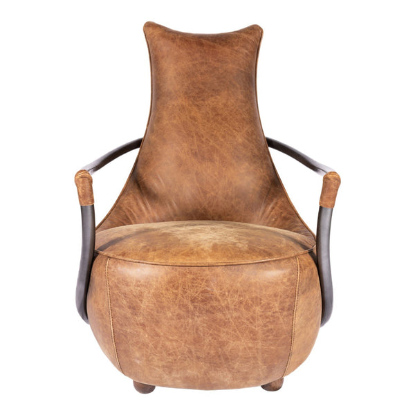 Carlisle Club Chair Light Brown