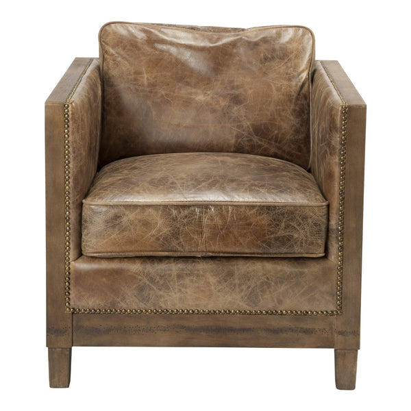 Darlington Club Chair Light Brown