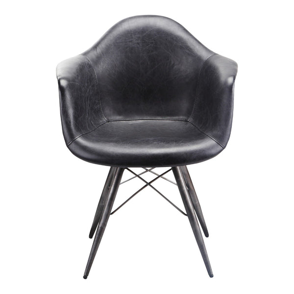 Flynn Club Chair - Black