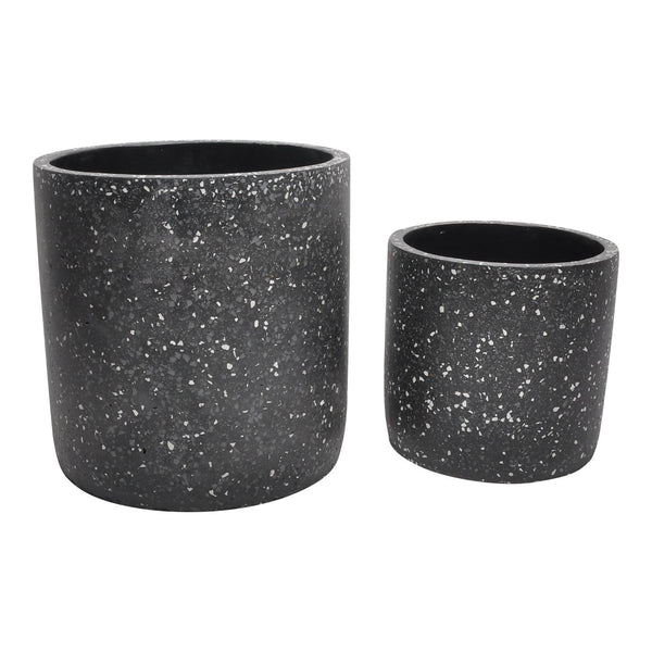Kasvaa Planter Black Set Of 2