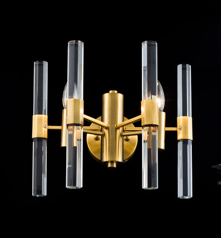 Brass Metal Frame Wall Sconces