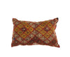 Vintage Hand-Woven Turkish Kilim Pillow