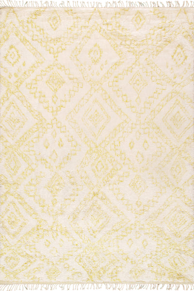 Casablanca Moroccan Collection Hand-Knotted Wool Area Rug