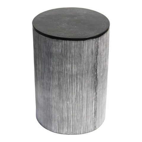 Althea End Table Black Patina