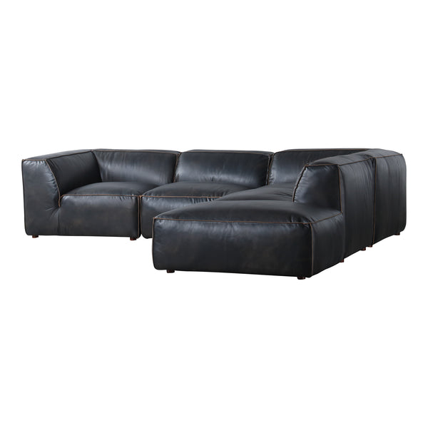 Luxe Dream Modular Sectional Antique Black