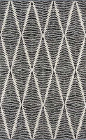 Hand Woven Beacon Black Area Rug