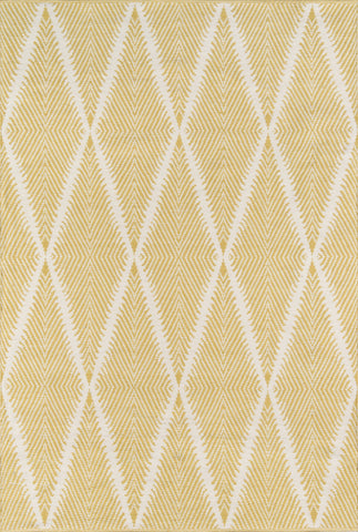 Hand Woven Beacon Yellow Area Rug