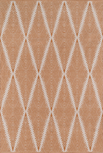 Hand Woven Beacon Orange Area Rug
