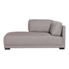 Romeo Chaise Left Grey